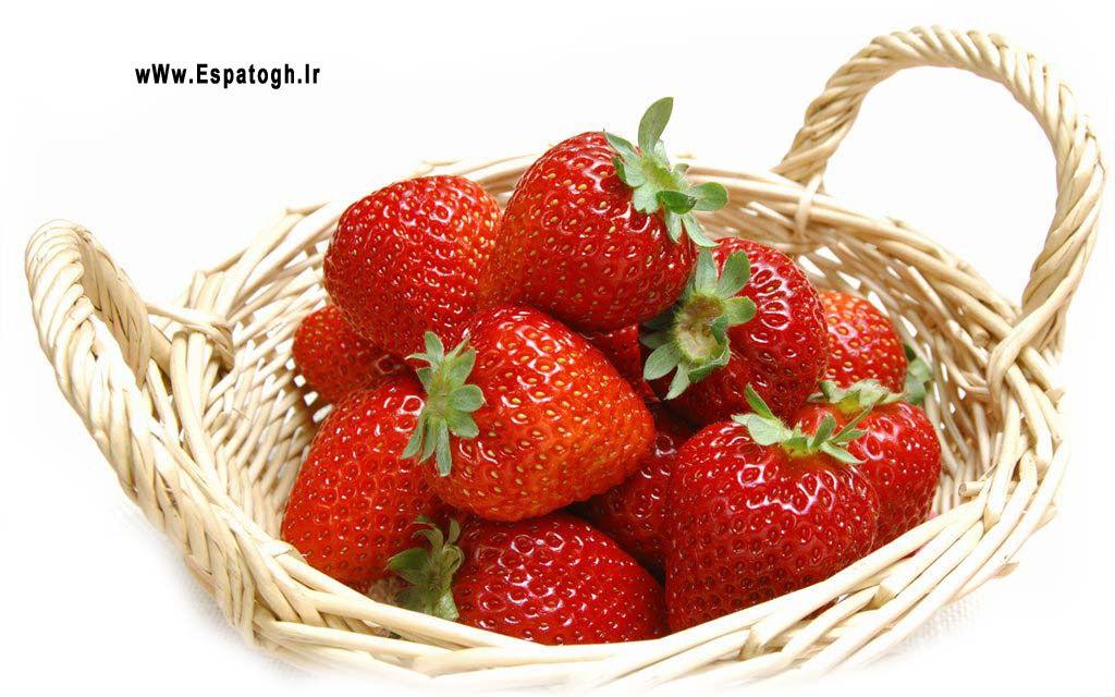 برای درمان اسهال، توت فرنگی بخورید-Espatogh.ir