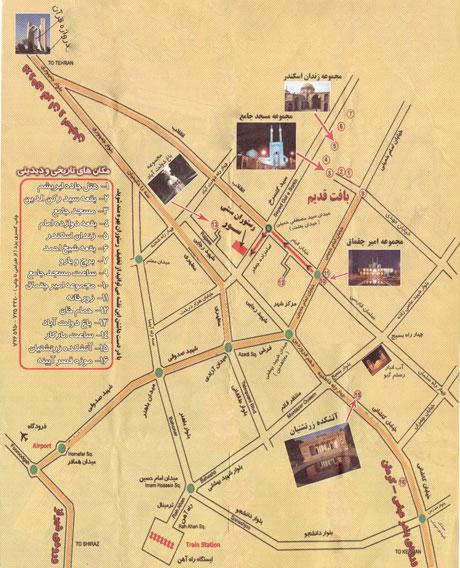 krai 'vna'vd dcn-نقشه گردشگری یزد