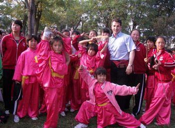 استاد یعقوب یگانی پور و ووشو کاران چین