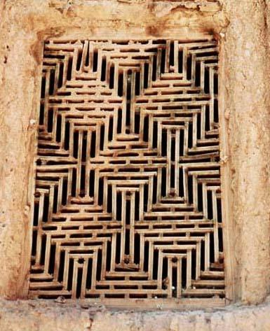 پنجره مسجد جامع ابیانه