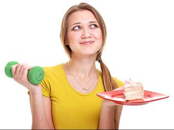 ورزش بهتر است یا رژیم غذایی