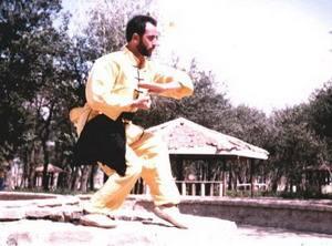 استاد بابک صاحب اختیاری بنیانگذار ورزش رزمی ووشو استان اردبیل