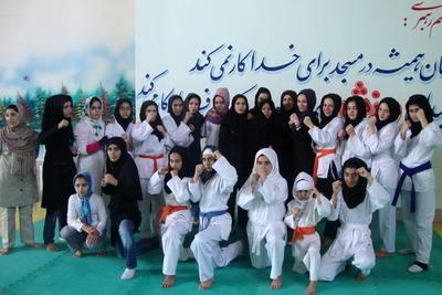 بانوان کاراته کا استان اردبیل
