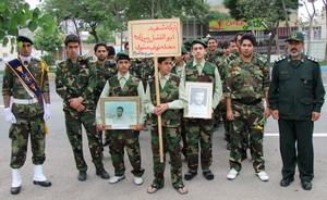 ورزشکاران پایگاه شهید ابوالفضل پیرزاده
