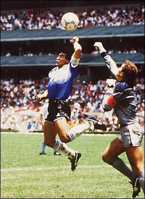 بازی انگلیس و آرژانتین در جام 1986