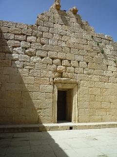 صحن پرستشگاه آناهیتا