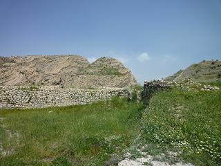 حصار ورودی شهر