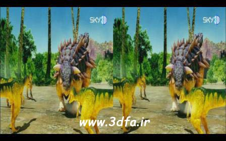 انیمیشن سه بعدی دایناسور ها | www.3dfa.ir