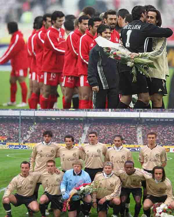 پرسپولیس و بایر مونیخ+ایران آلمان +گلهای یورو2008