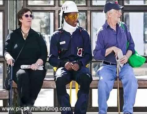 ابداع لباسی برای درک احساس یک انسان 75 ساله