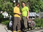 امیر خدافرد دوچرخه سوار دور ایران