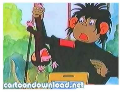 کارتون بچه میمون های بازیگوش