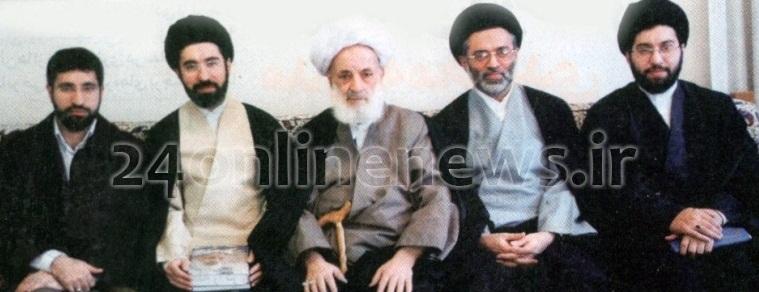 پسران امام خامنه ای + عکس دسته جمعی