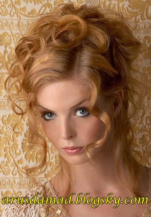 مدل مو باز