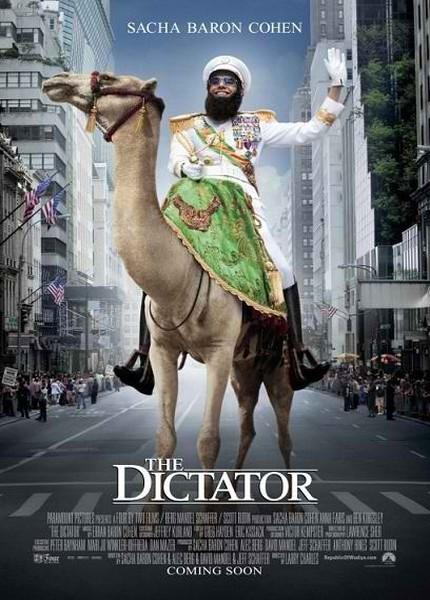 The Dictator 2012  دانلود فیلم The Dictator 2012