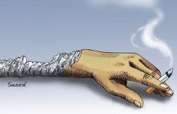 مصرف محصولات دخانی در هر 6 ثانیه یک نفر را به کام مرگ می کشاند