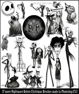 کارتون کابوس  Nightmare2 برای فتوشاپ