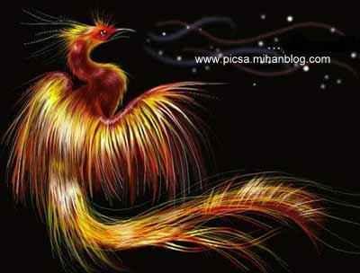 سیمرغ، پرنده ی افسانه ای