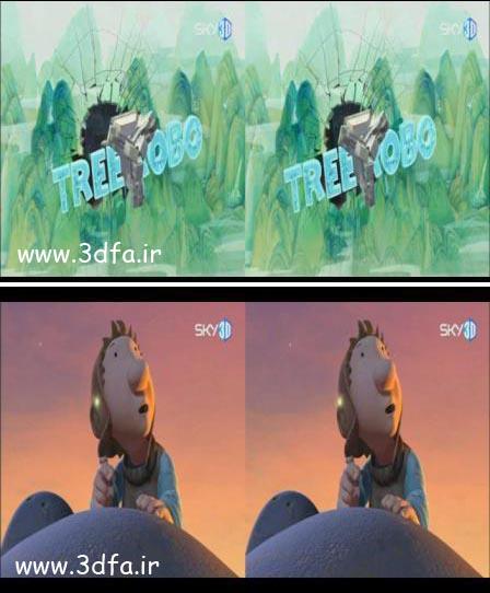 tree robo 3d,3dfa.ir