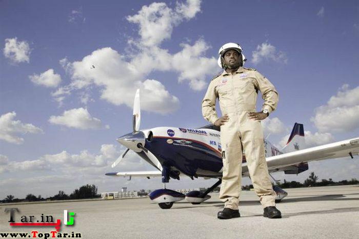 جوانترین خلبان پرواز دور دنیا،رکورد گینس