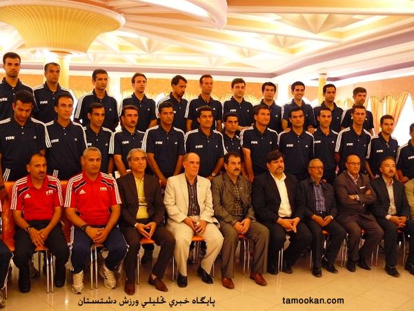 محمد حسین زاهدی فرد داور برازجانی فوتبال
