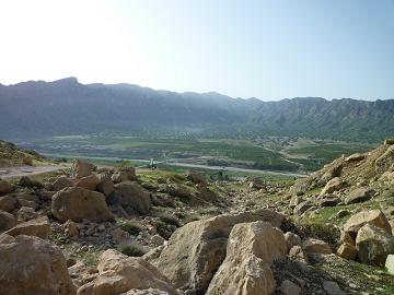 کوه شرقی تنگ چوگان