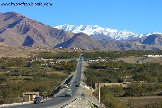 منظره ای زیبا از افغانستان