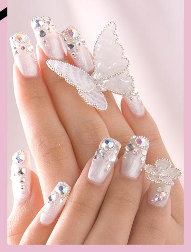 [تصویر:  Wedding_Nail_Design_For_Bridal.jpg]