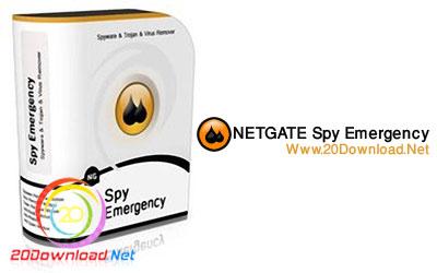 مقابله ایمن با بدافزار ها با نرم افزار قدرتمند NETGATE Spy Emergency v10.0.905.0