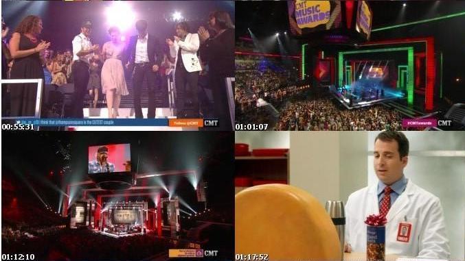 مراسم CMT Music Awards 2012
