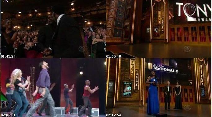 مراسم The 66th Annual Tony Awards 2012
