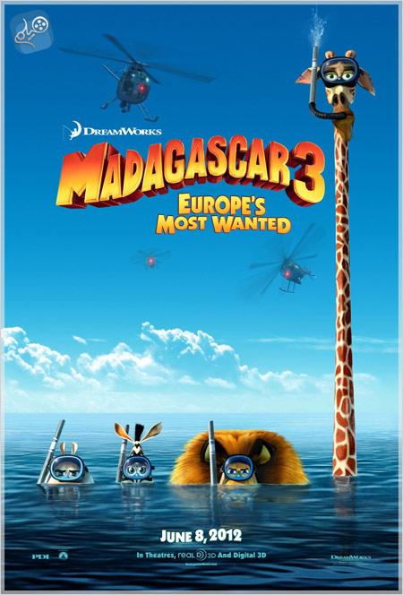 Madagascar3 دانلود انیمیشن Madagascar 3 2012