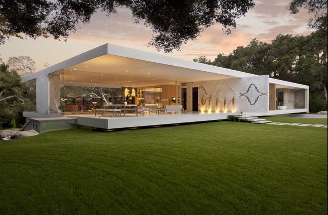 عمارت شیشه ای به طراحی استیو هرمان
