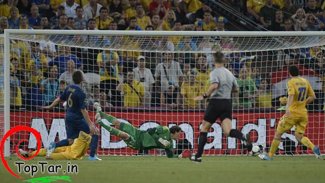 گالری عکس یورو 2012 ، فرانسه و اوکراین