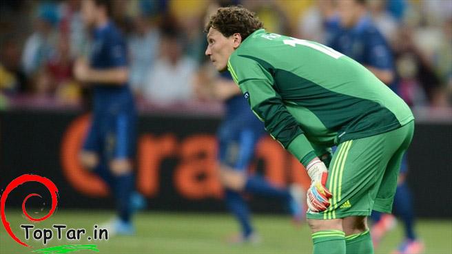 گالری عکس بازی فرانسه و اوکراین در یورو 2012