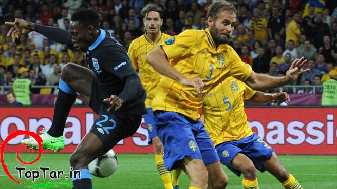 نتیجه و گالری عکس بازی انگلیس و سوئد/ سایت تاپ ترین