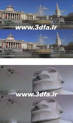england museum in 3d side by side
