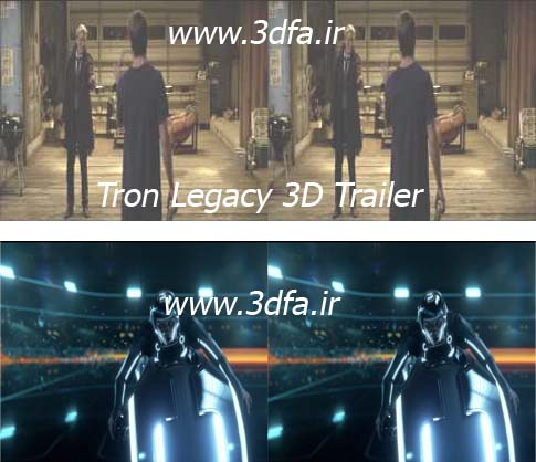 tron legacy 3d sbs trailer video