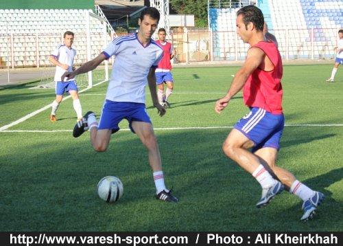 حضور مرتضي ابراهيمي و هادي سهرابي در تمرينات+گزارش تصويري تمرين