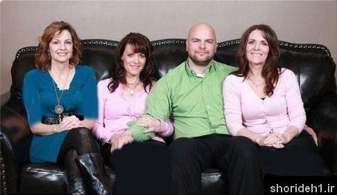 مرد سه زنه