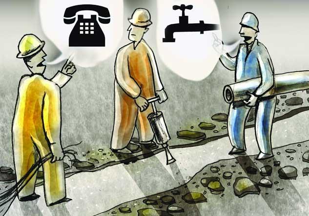 حفاری برای طرح ملی؛ درآمدزایی محلی!/ وقتی مردم مجبورند پول زور به شهرداری بدهند