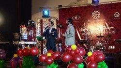حسن ریوندی به همراه عمو پورنگ
