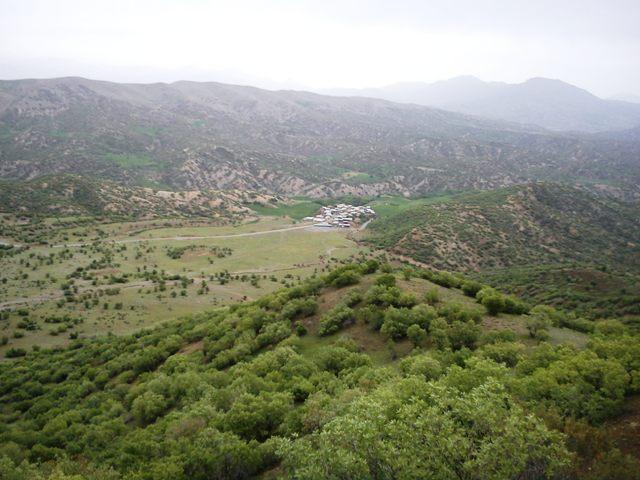 طبیعت بهاری روستای ژیریان