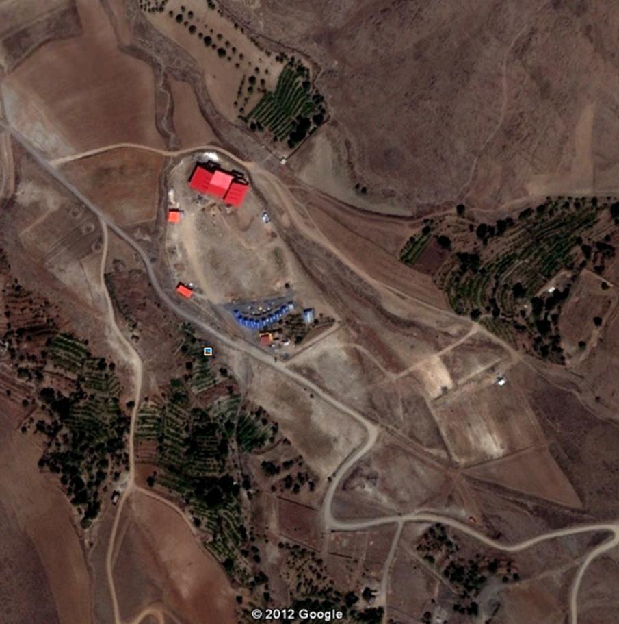 موقعیت دشت بهشت بر روی گوگل مپ