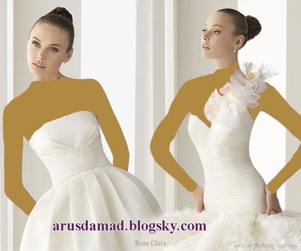 لباس عروس 2012