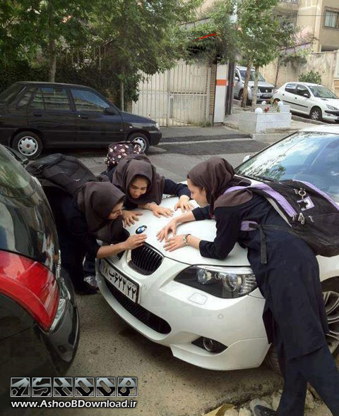 عکس از آهن پرست بودن دخترها | www.AshooBDownload.ir