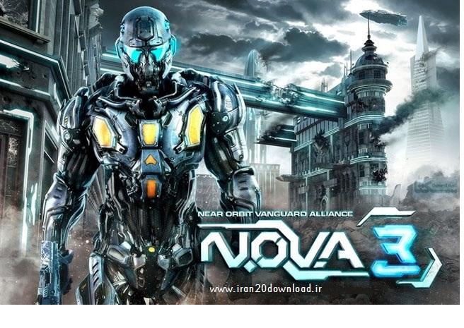 دانلود بازی 3 N.O.V.A  برای سیستم عامل اندروید