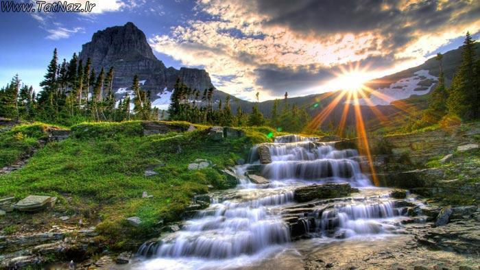 طبیعت شگفت انگیز را تماشا کنید ...( تصویری) www.tatnaz.ir