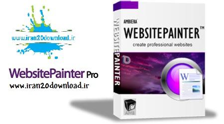 دانلود نرم افزارطراحی صفحات وب بدون دانش فنی با نرم افزار WebsitePainter Pro 2.1