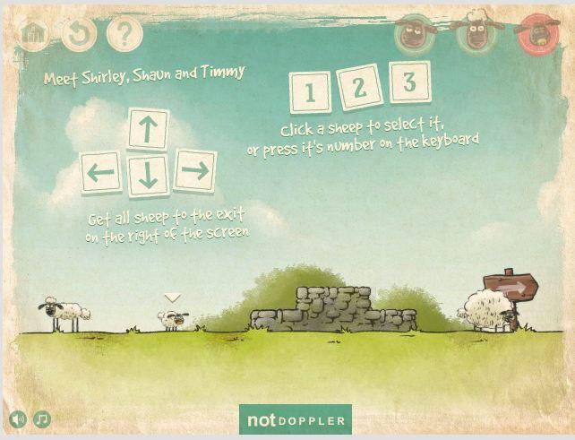 بازی آنلاین گوسفندان